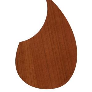 Гитарные пикгарды, материал пластик под дерево ( палисандр, карельская береза, вишня, венге), на двусторонней клеящей основе, на классическую и эстрадную гитару